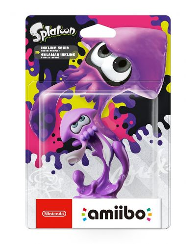 Nintendo Amiibo фигура - Purple Squid [Splatoon] - 3